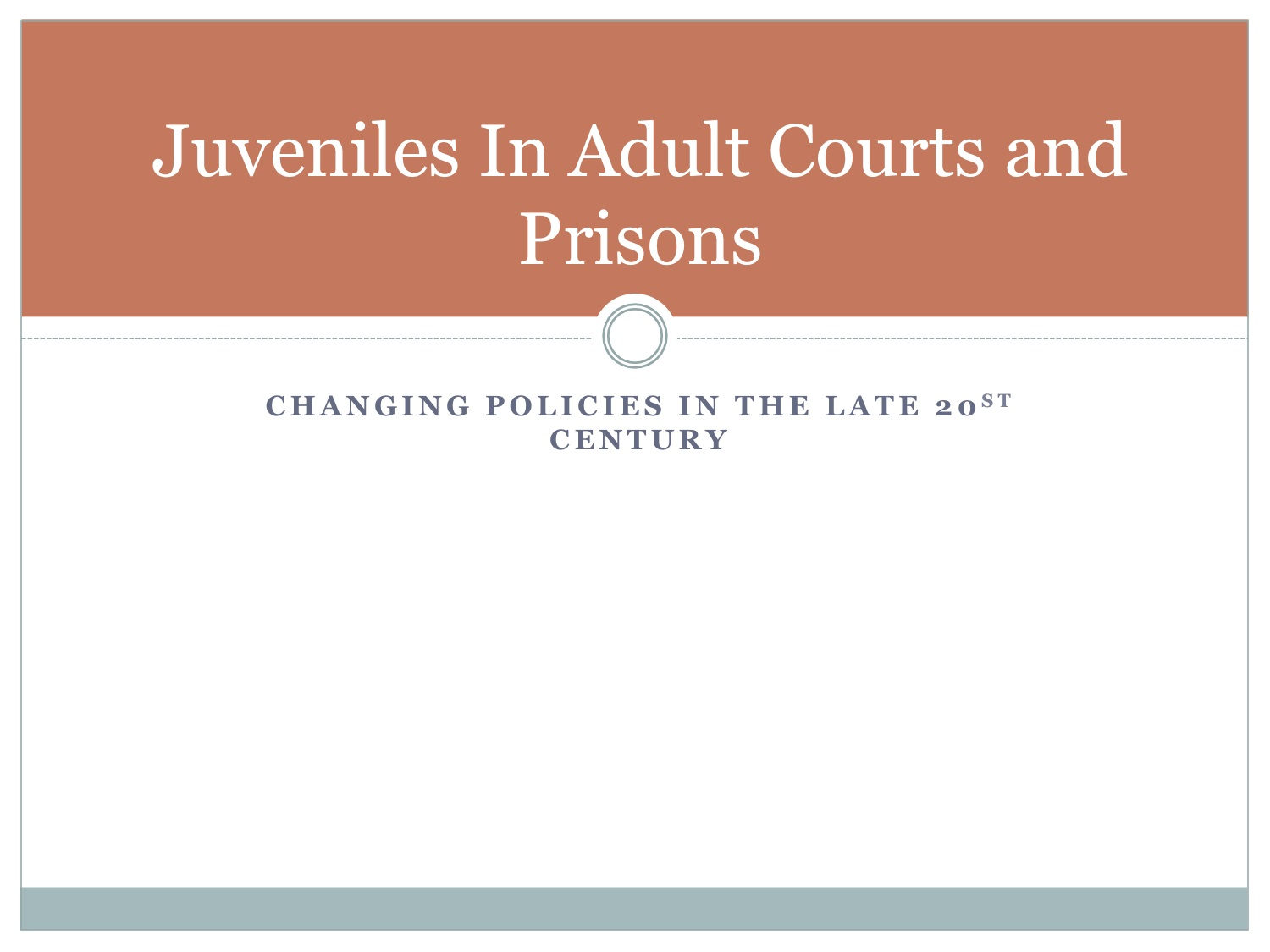 juvenile and adult courts essay Juvenile offenders should be tried as adults essay during the 1970s and 1980s the system of juvenile justice had been changed drastically across the united states: a substantial share of the crimes committed by juvenile moved to the jurisdiction of the criminal courts.
